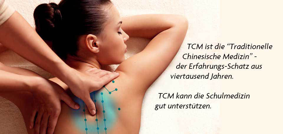 Banner TCM-Heilmassage in Wien